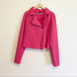 Torrid Hot Pink Moto Jacket